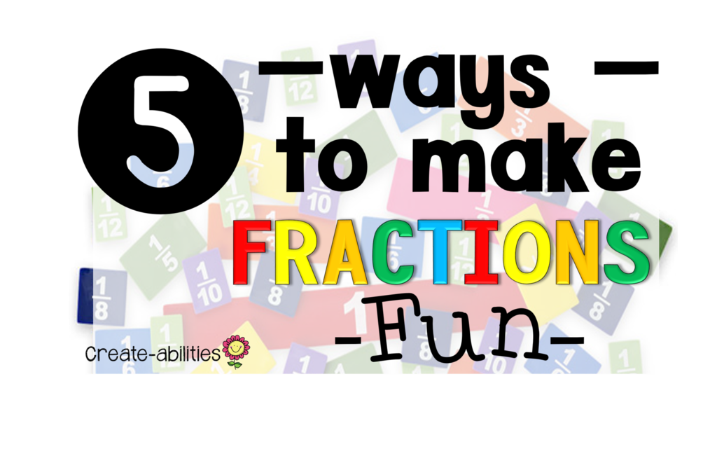 Fractions clipart 5th grade math.  ways to make