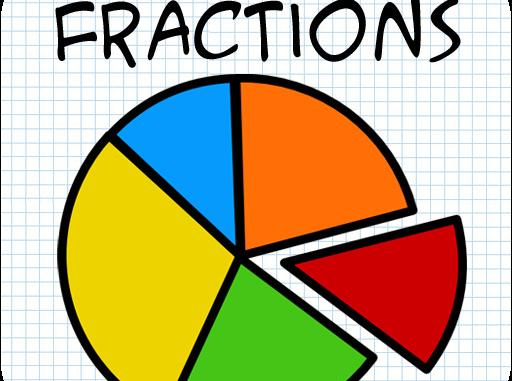 Fraction clipart proper fraction. Arithmetic fractions marymatics