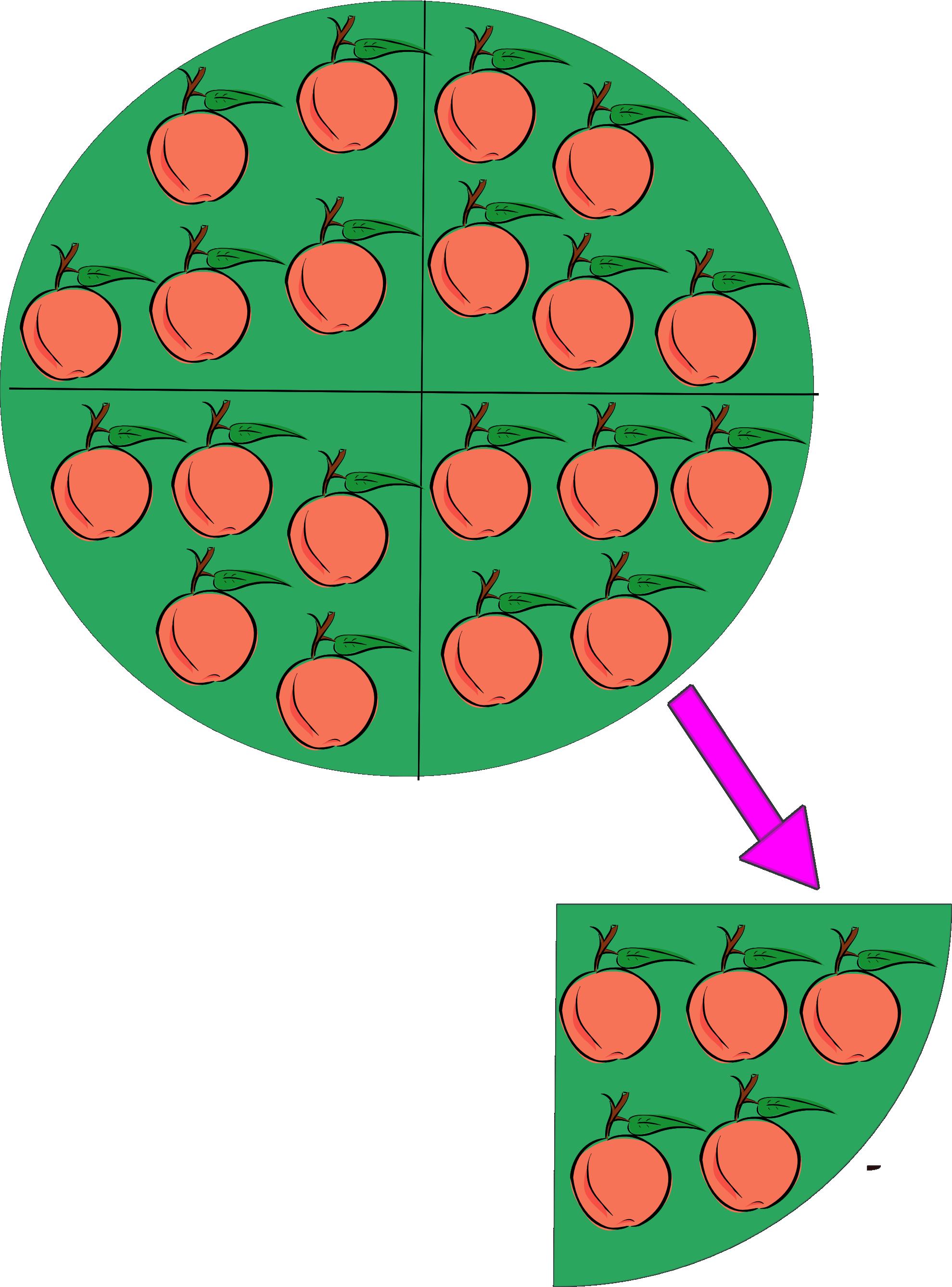 Divide group clipartistnet clip. Fraction clipart quarter fraction