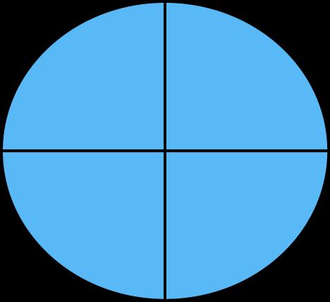 Fraction clipart quarter fraction. Math four quarters clip