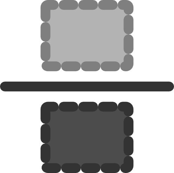 Fraction clipart rectangle fraction. Empty clip art at
