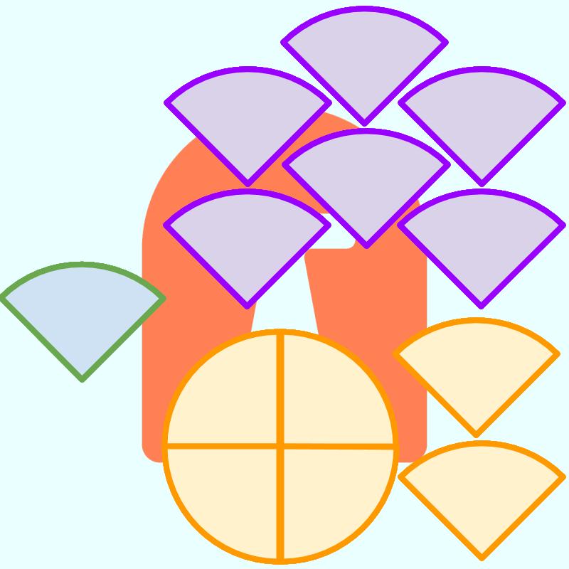 Proper mixed . Fractions clipart improper fraction