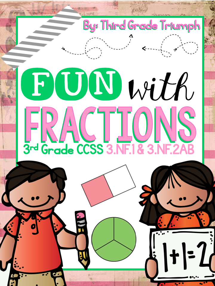 Fractions clipart title page. The best of teacher