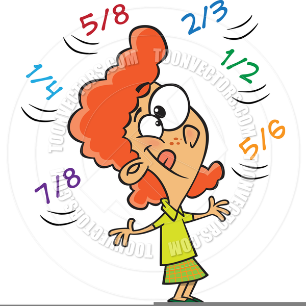 Fractions clipart. Animated free images at