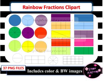 Clip art worksheets teachers. Fractions clipart basic