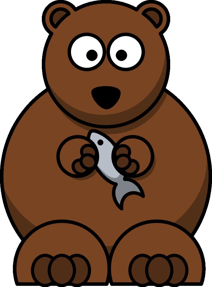 Funny cute bear get. Kangaroo clipart cartoon