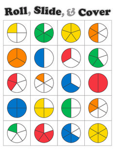 Fractions clipart everyday. Directions en fraction math