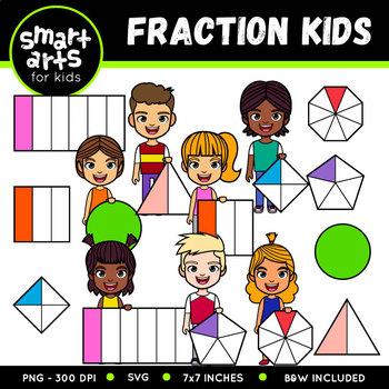 Fractions clipart kid. For kids worksheets teaching