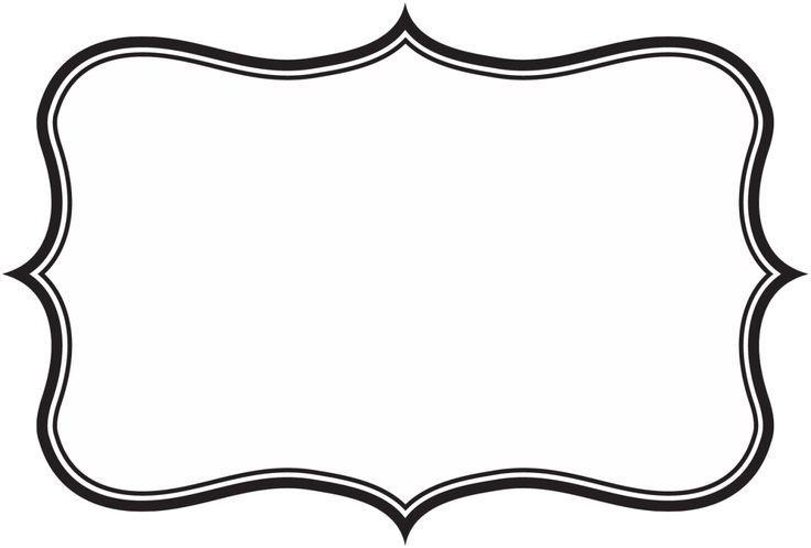 Label frame clip art. Clipart frames