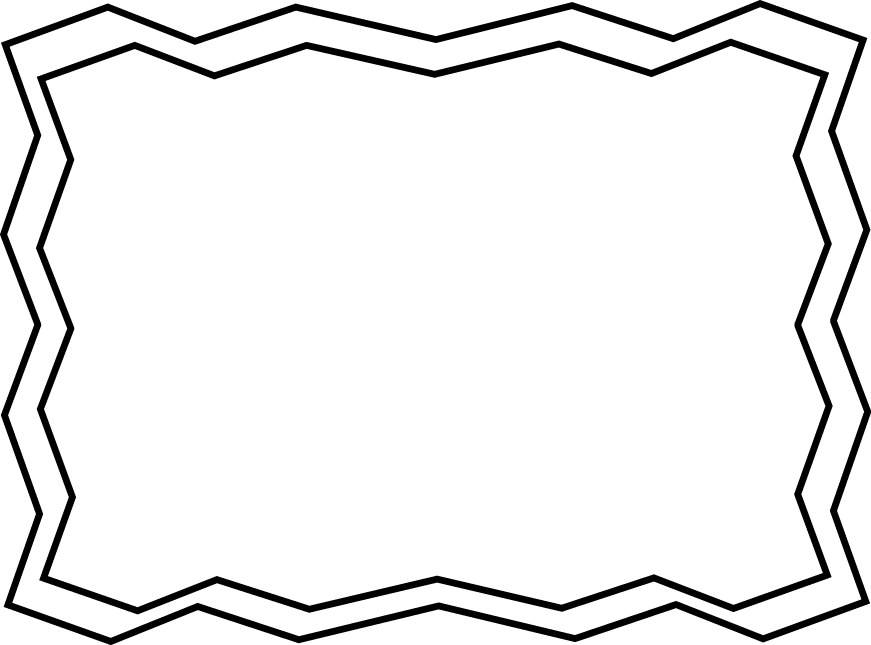 Frame clip art black. Funeral clipart squiggle