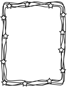Frame clipart black and white. Free download best