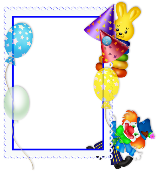 Free transparent png party. Frames clipart happy birthday
