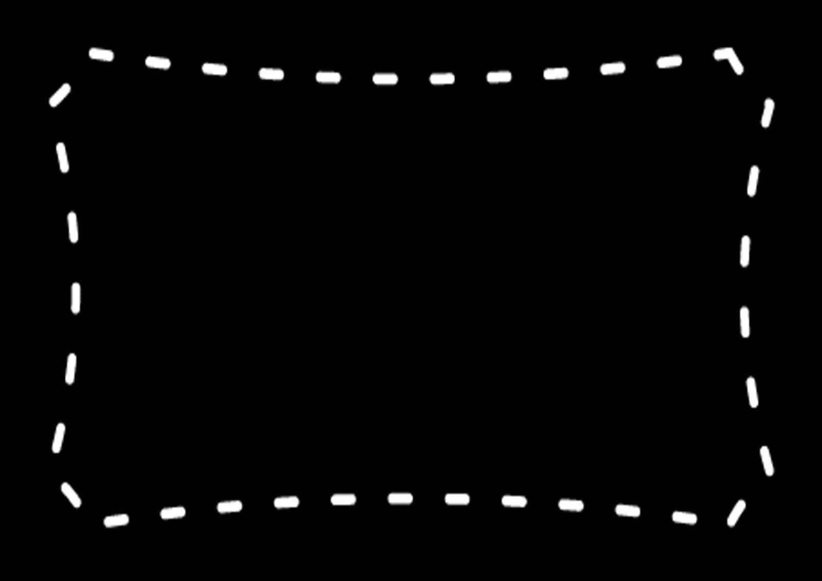 Chalkboard frame png. Etiquetas en blanco y