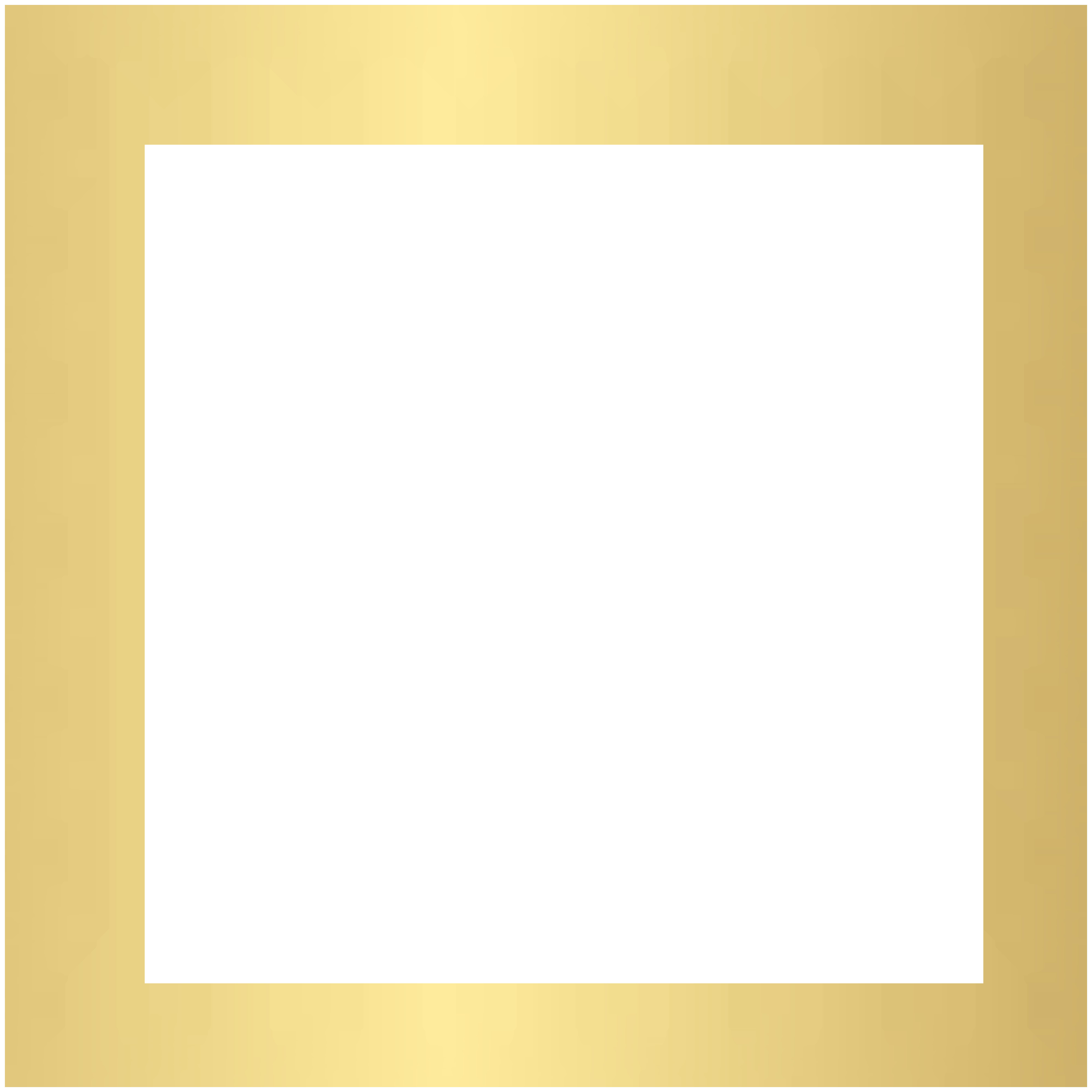 Deco frame transparent clip. Chalk border png