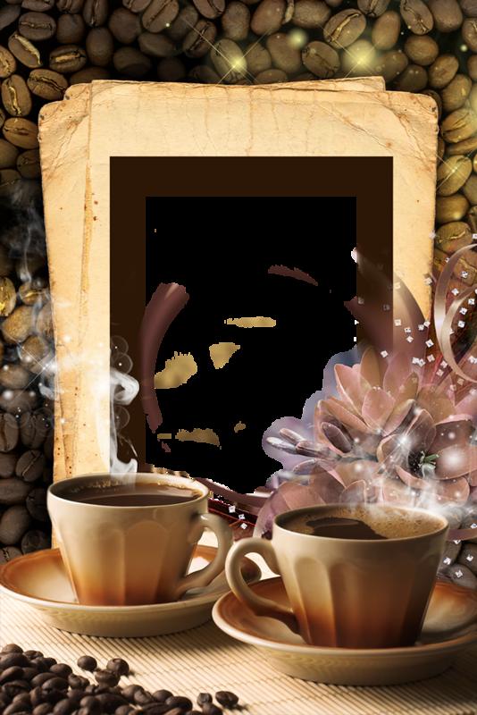 Frames clipart coffee. Cadres frame rahmen quadro