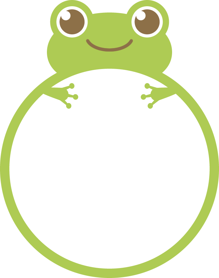 Http frame illust com. Frames clipart frog