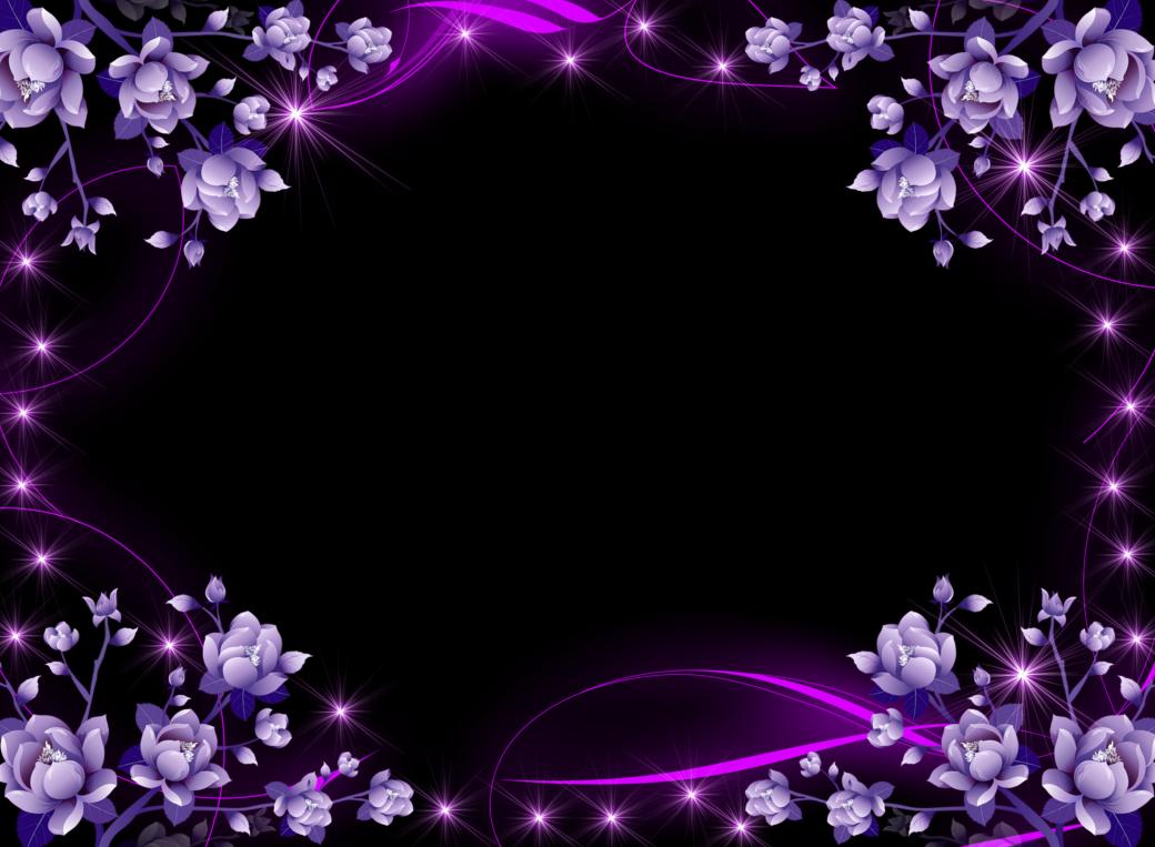 Sonhos ao vento molduras. Frame clipart lavender
