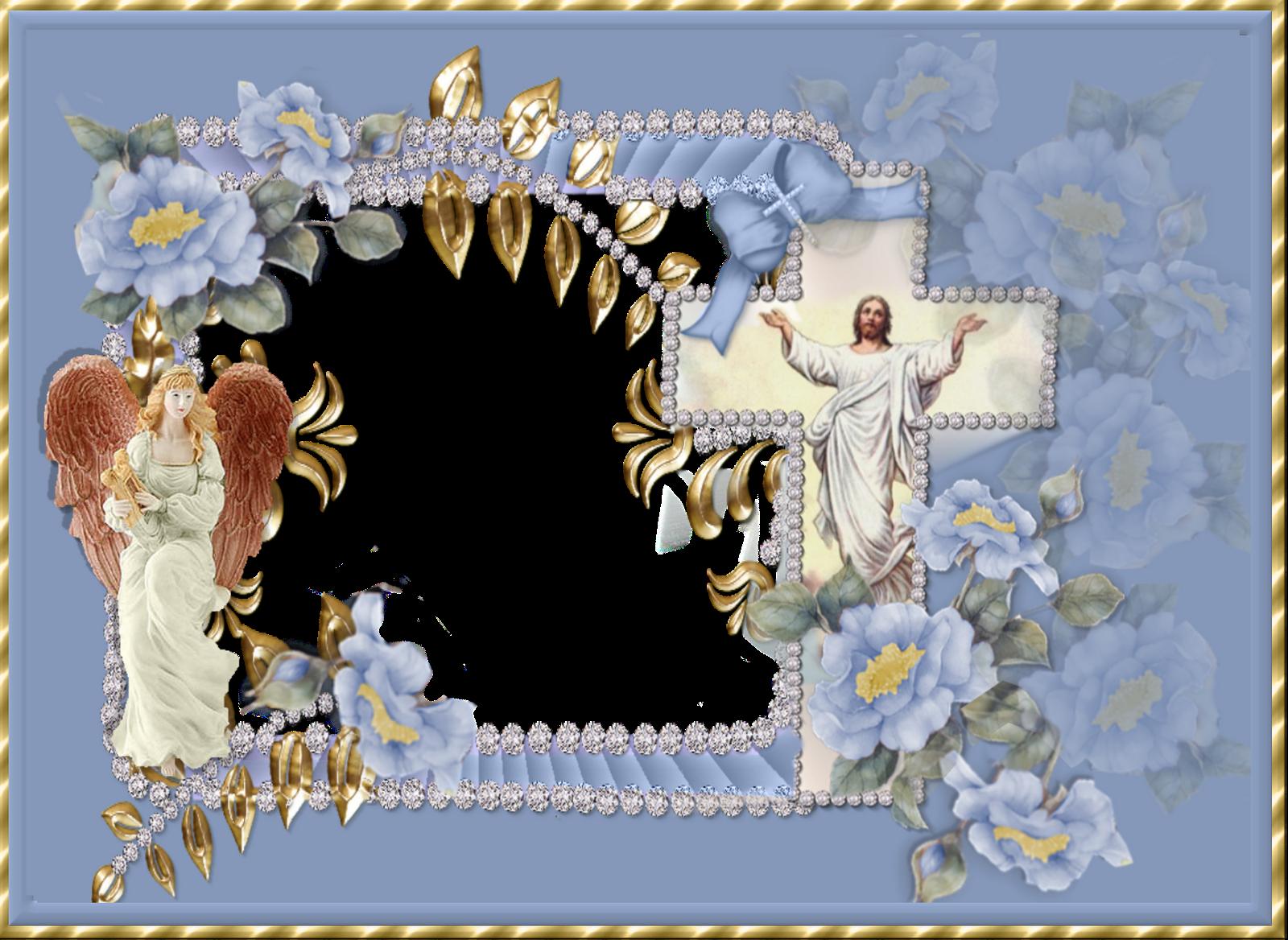 Christian easter borders in. Frame clipart religious