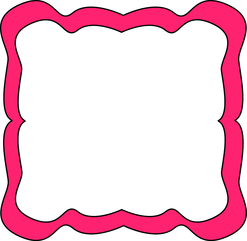 Frame clipart school. Pink frames and borders