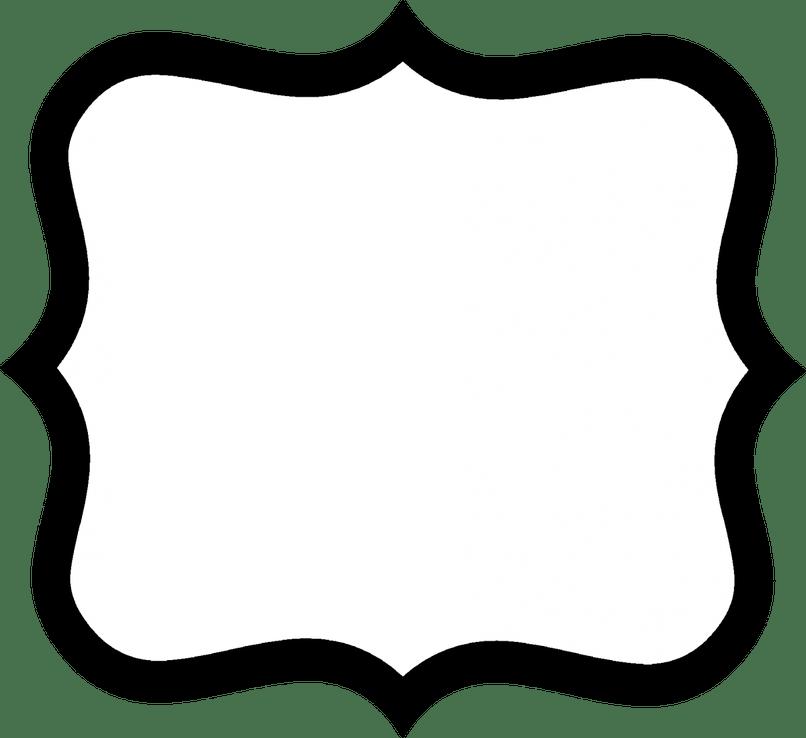 Photo frames shapes framess. Frame clipart shape