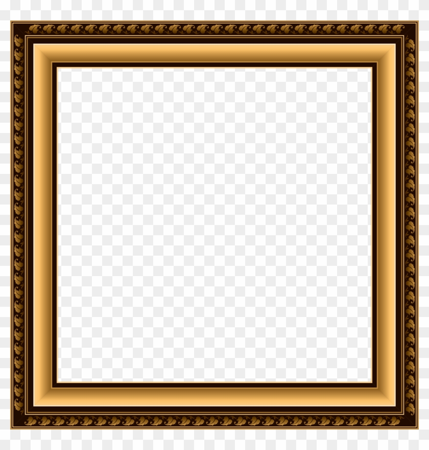Square clipart photograph border. Silhouette frames png photo