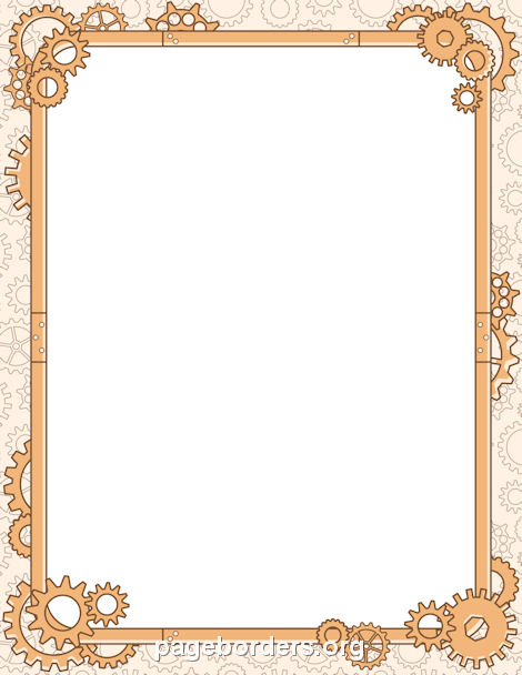 Steampunk clipart borders. Pin by muse printables
