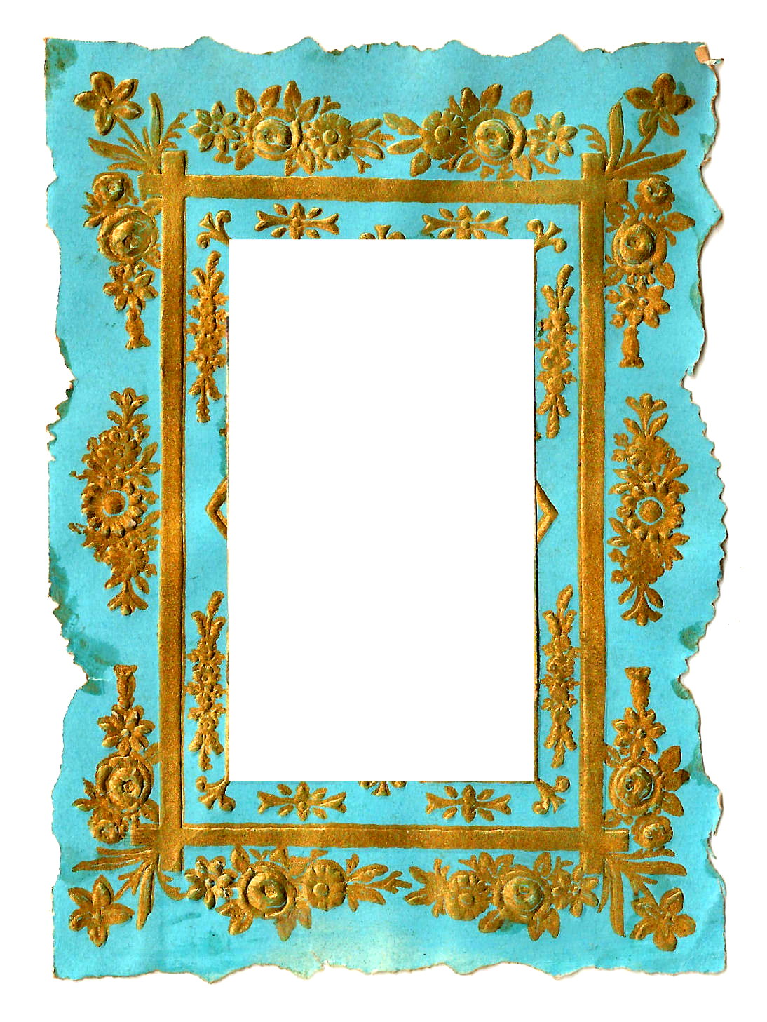 Frame clipart transparent background.  collection of vintage