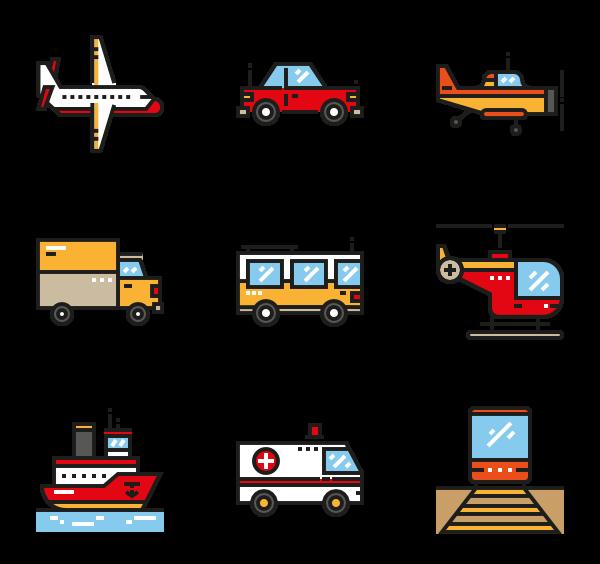 collection of transparent. Transportation clipart mode transportation