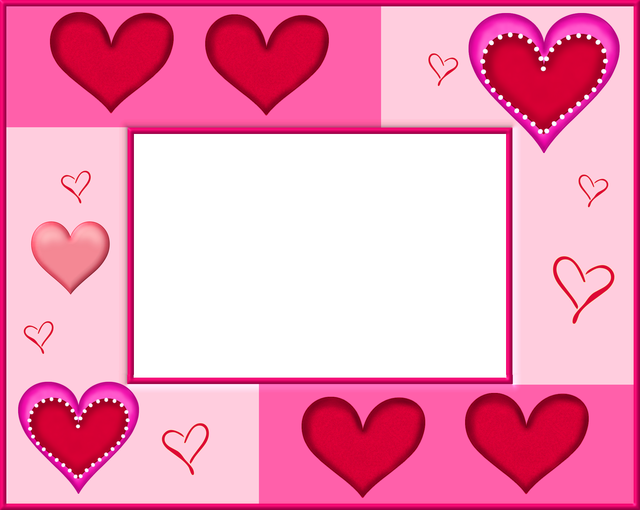 Frame clipart valentine.  free clip art