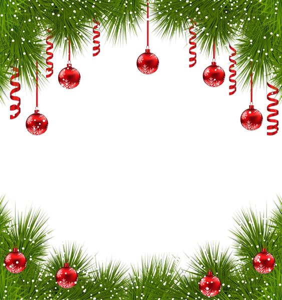 Frame clipart xmas. Christmas transparent png with