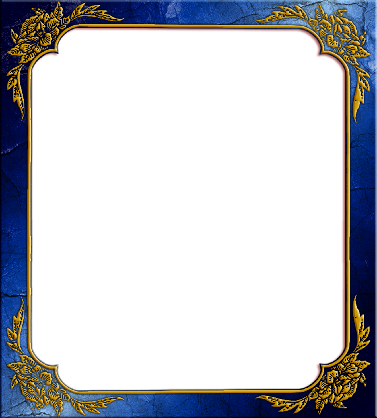 Photo images transparent blue. Frame design png