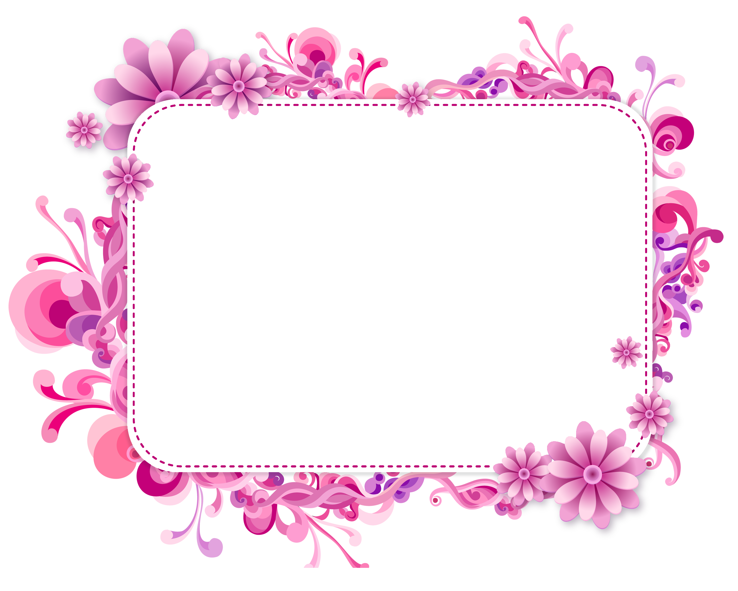 Frame design png. Blue and purple vector