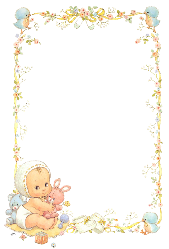Bautismo kit ruth morehead. Frames clipart baby shower