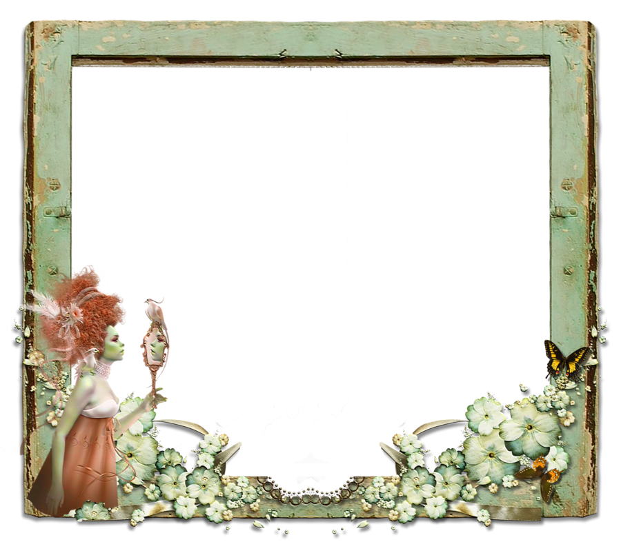Fantasy border png. Frame by mysticmorning on
