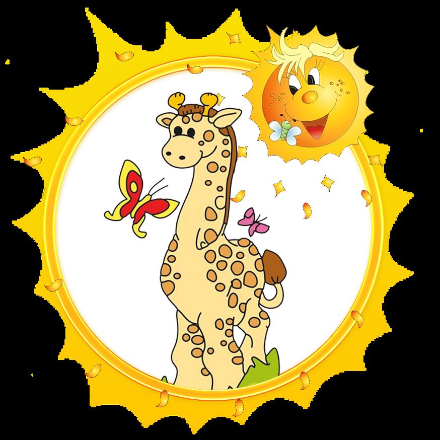 Frames clipart giraffe. Pre matersk koly game