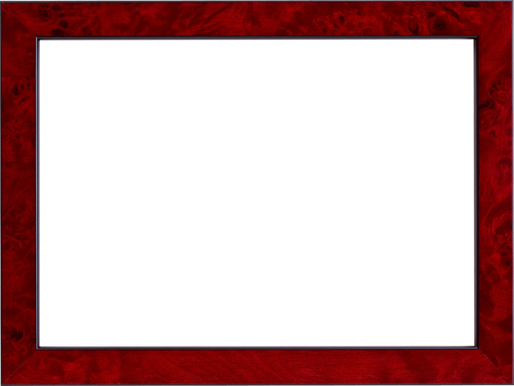 Simple transparent gallery yopriceville. Red frame png