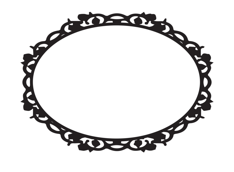 Oval ornamental by snicklefritz. Fruits clipart frame