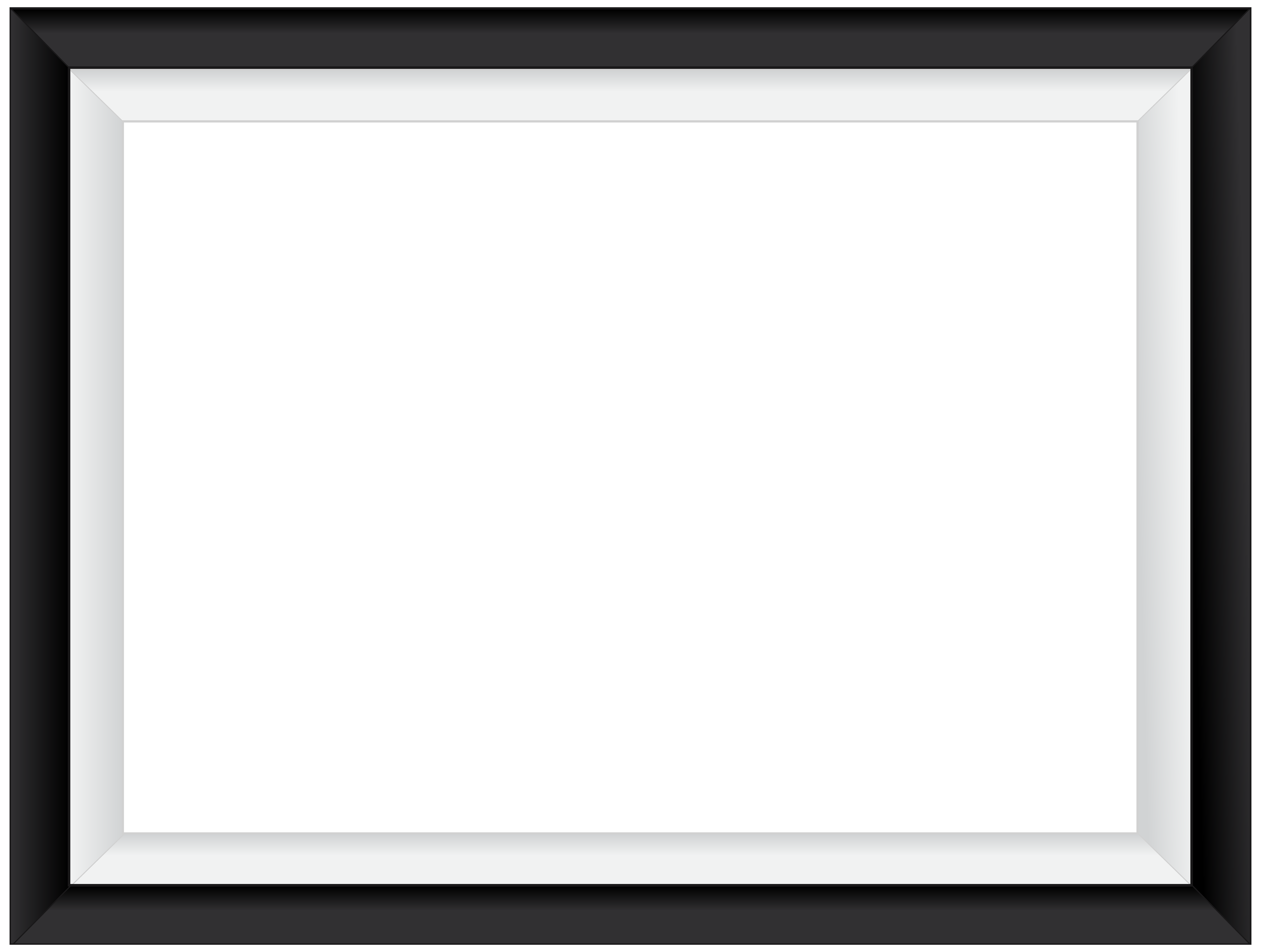 Black frame png. Square view full size