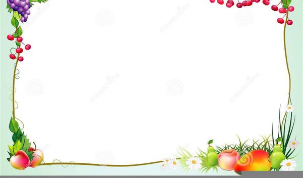 Vegetables clipart border design. Free vegetable borders images