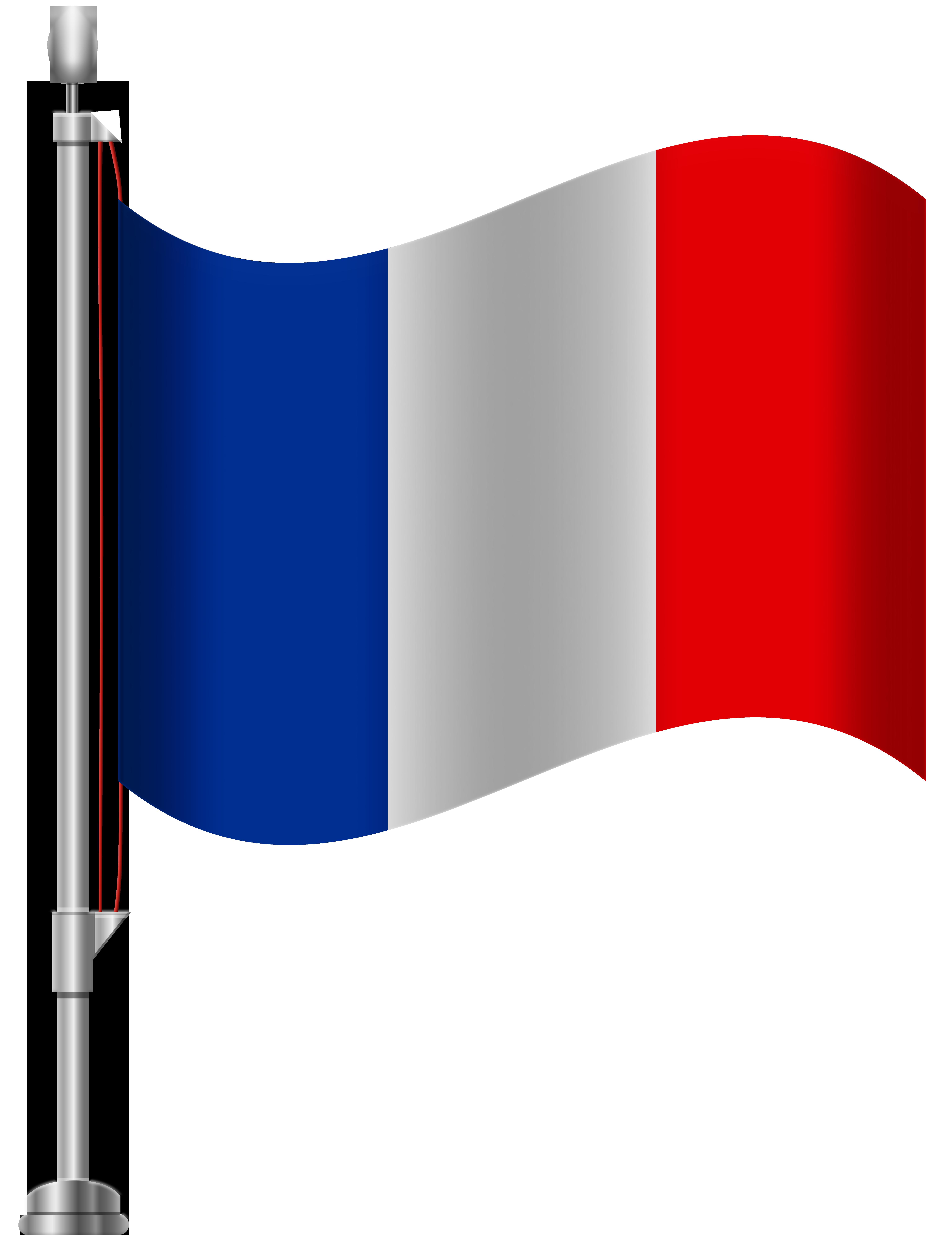 France clipart. Flag png clip art