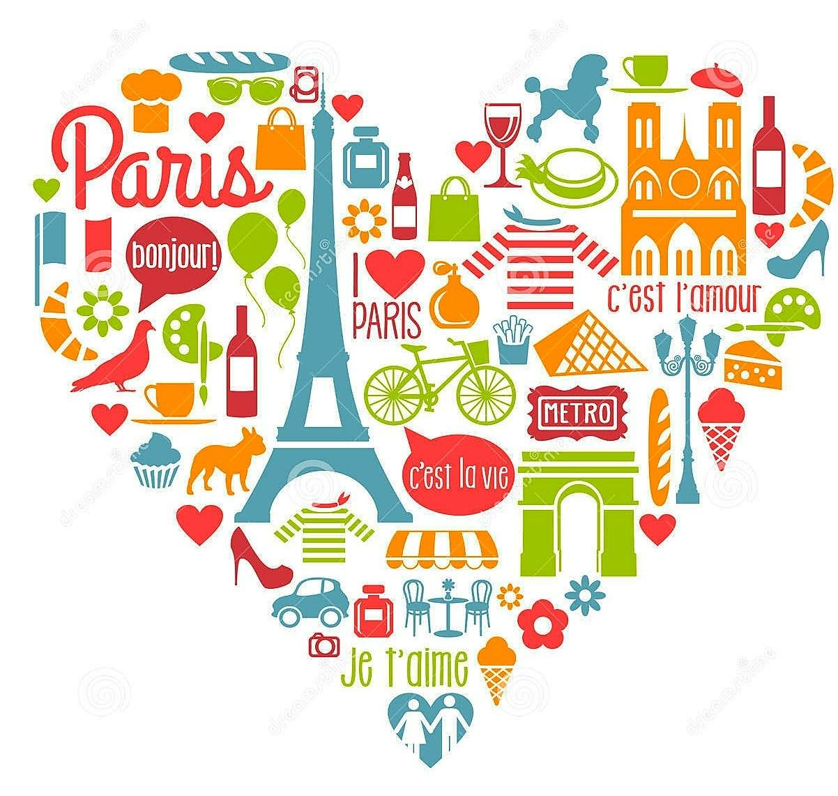 Pin by martha martin. France clipart attraction france