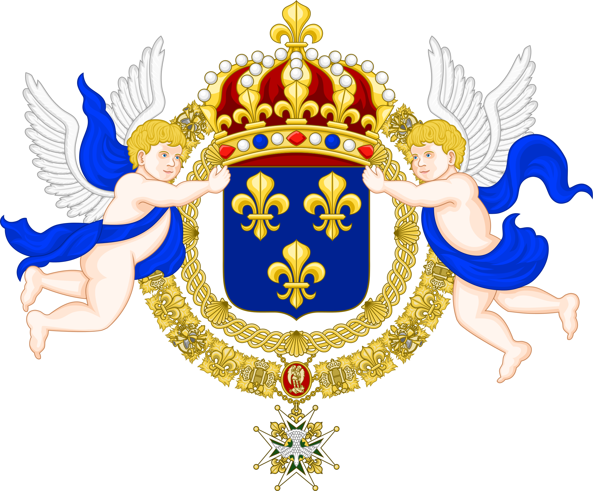Kingdom of coat arms. France clipart bakery french