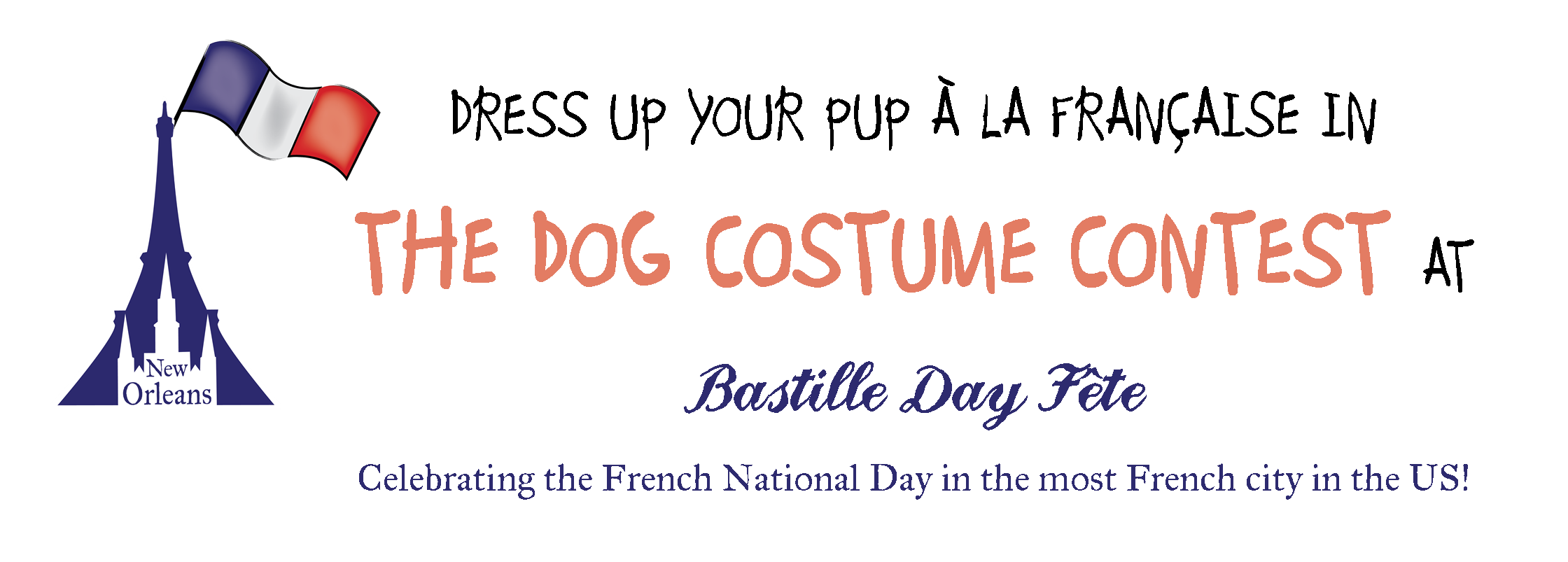 France clipart bastille day. Dog costume contest new