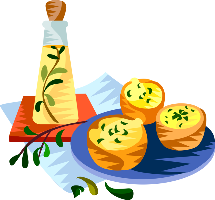 Cuisine miniature quiche vector. France clipart cheese french