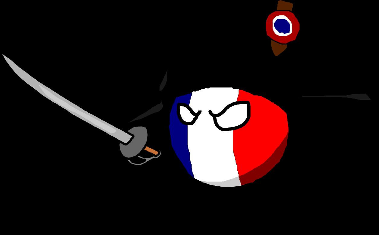 France clipart city france. First french empireball polandball