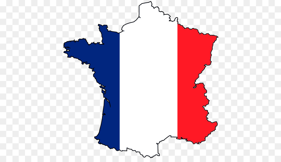 Flag tree line graphics. France clipart country france