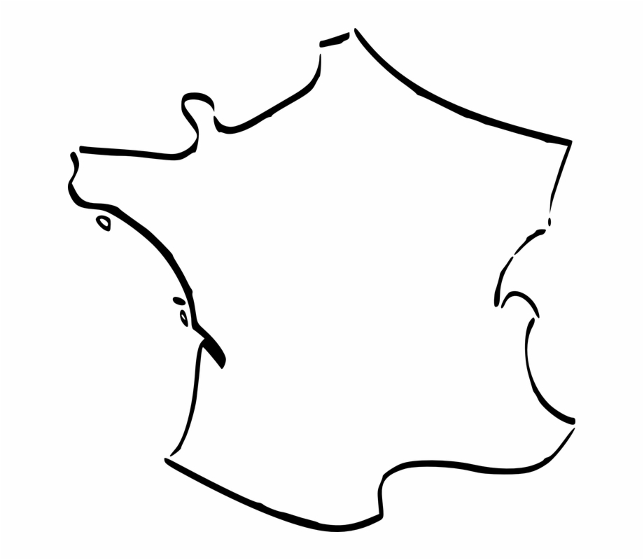 France clipart country france. Map french geography cartography
