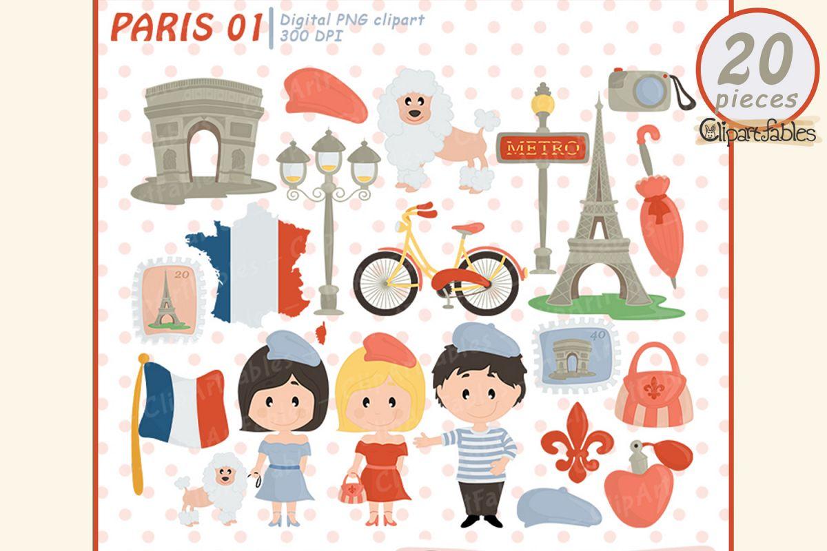 France clipart cute. Paris eiffel tower travel