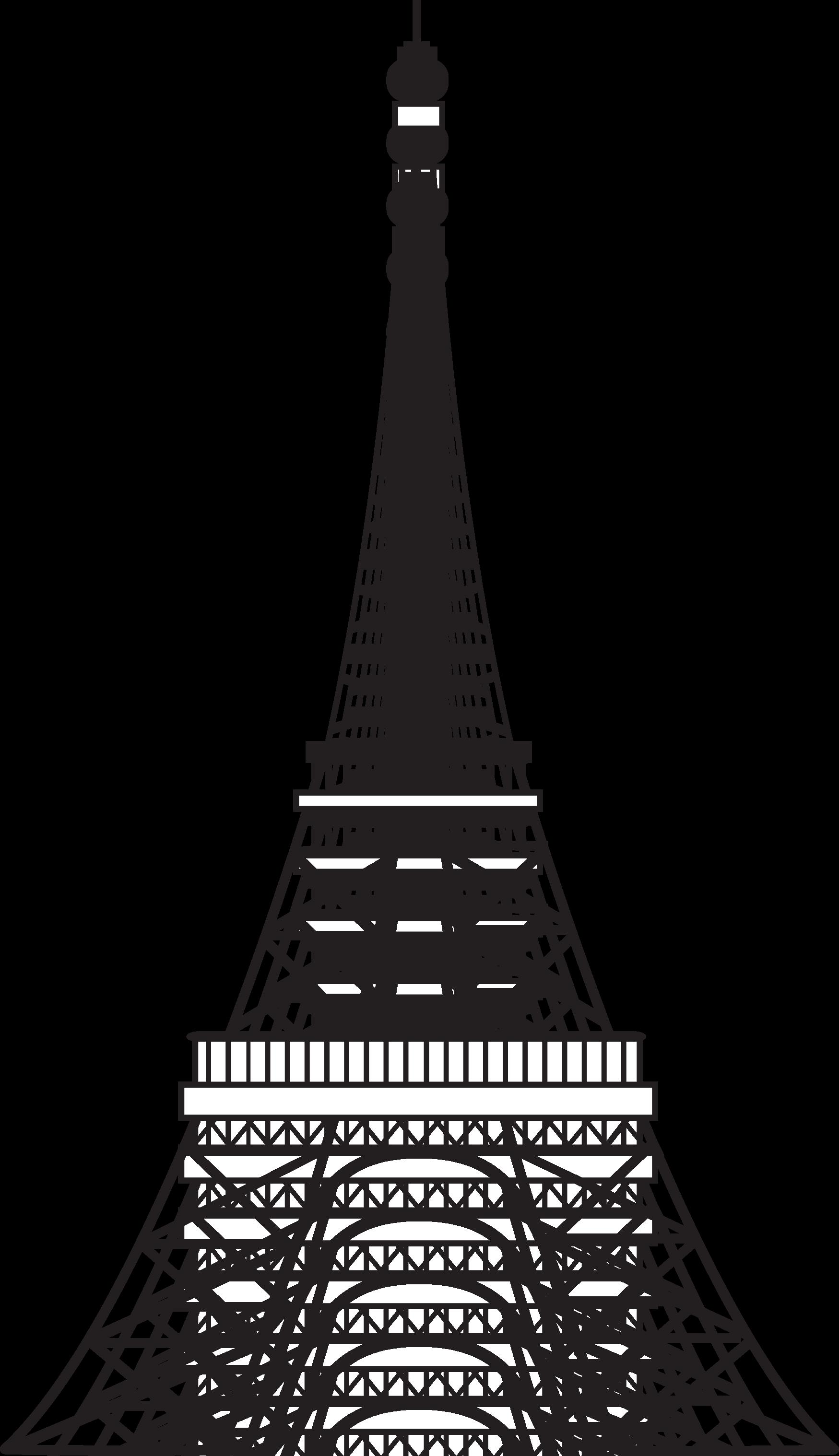 Money clipart tower. Paris eiffel drawing cakepins