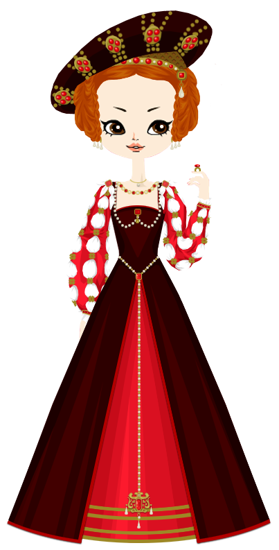 France clipart elegant woman. Eleonor of austria married
